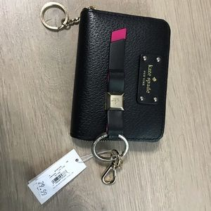 Kate Spade wallet and key chain.